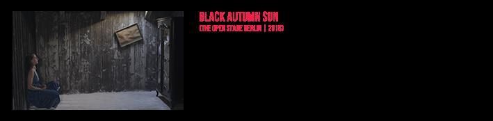 Black Autumn Sun | Official Live Video